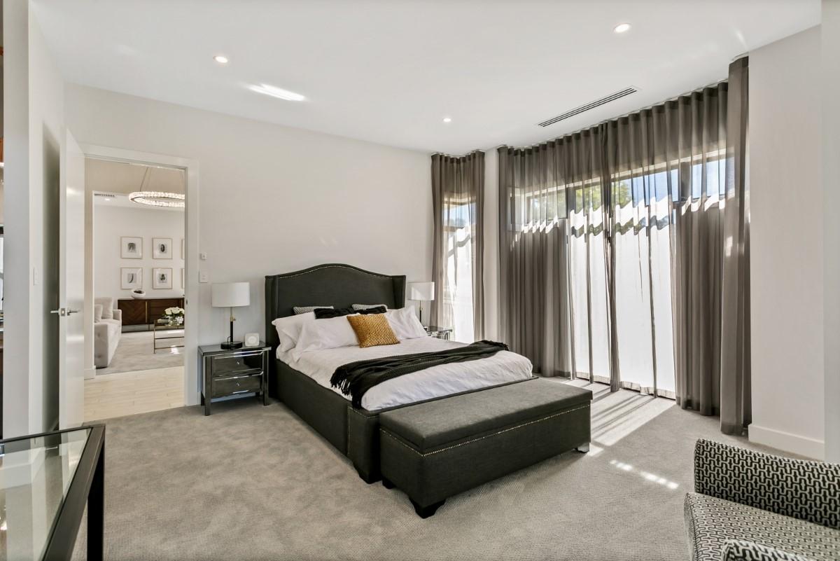 Kensington master bedroom