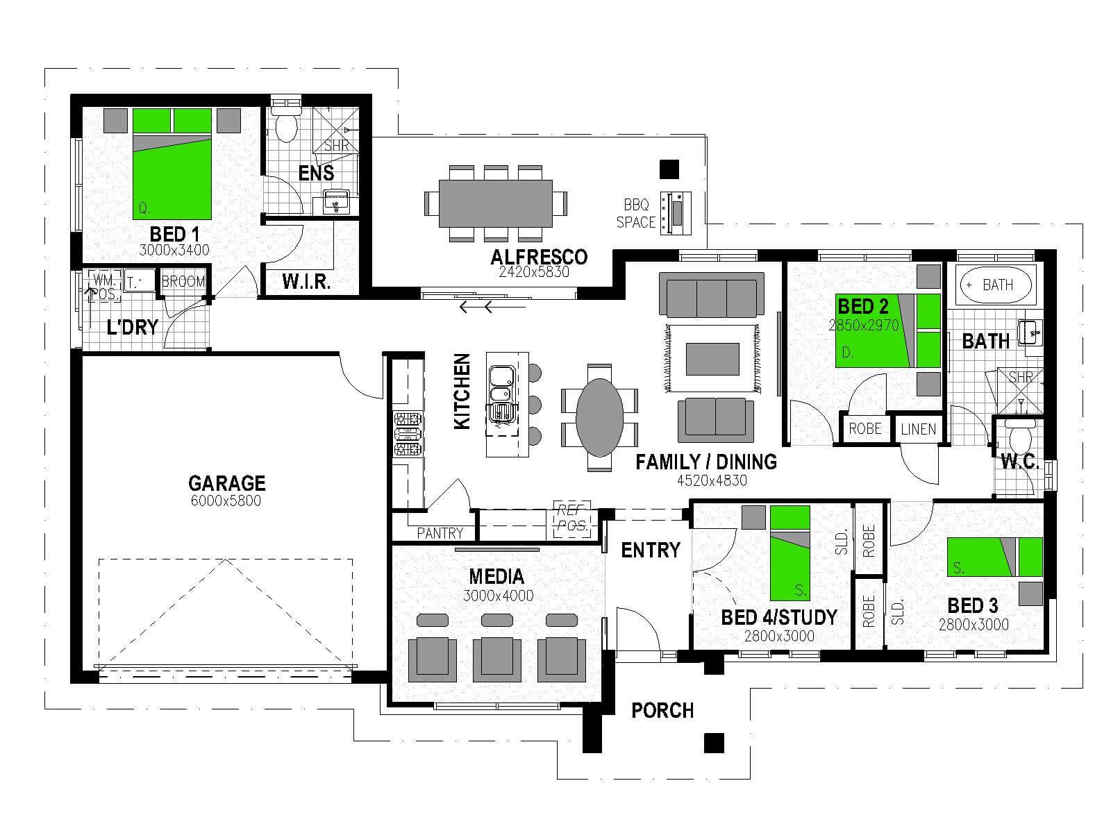 Beechmont 181 Coast Floor Plan