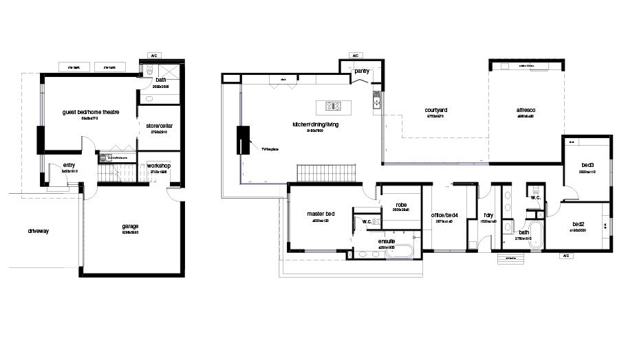 Dream Homes Arcadia floorplan