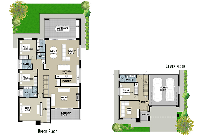 Adelaide Prestige Homes Springview Floorplan