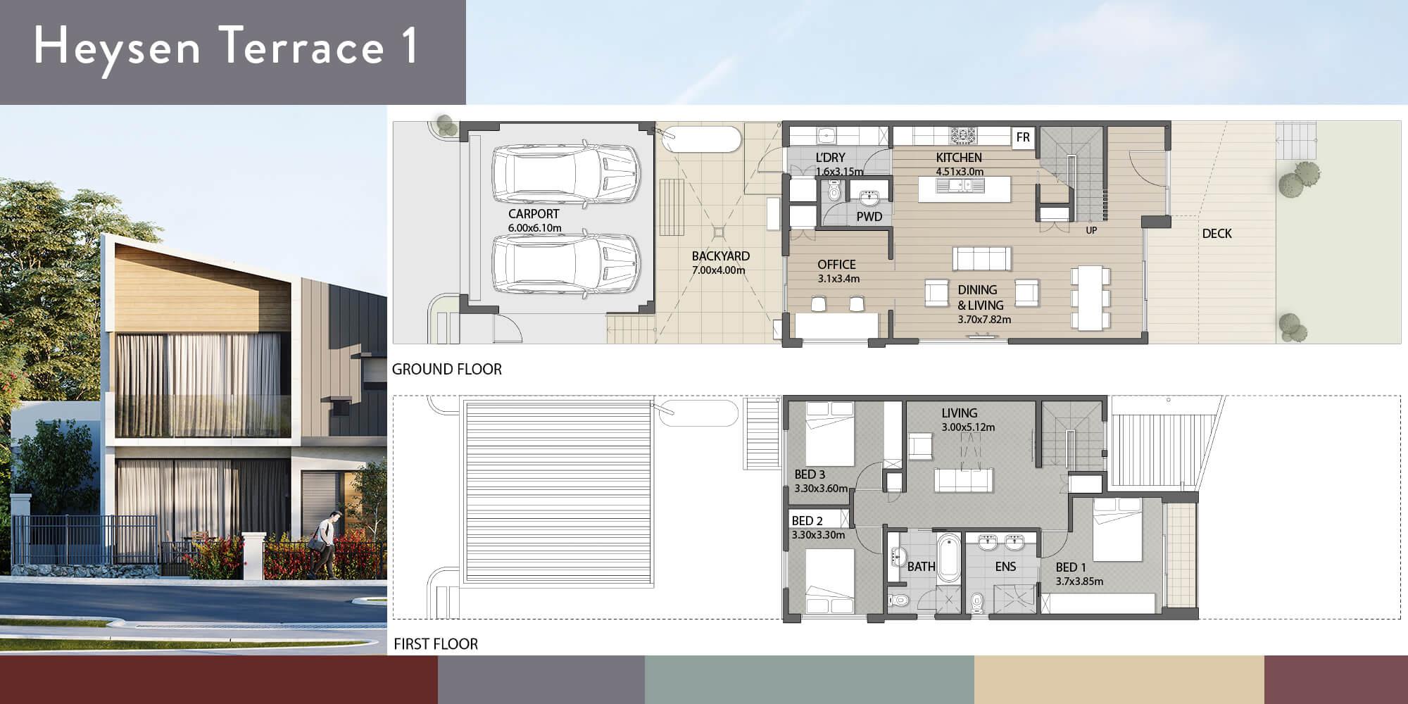 Heysen 1 Floorplan
