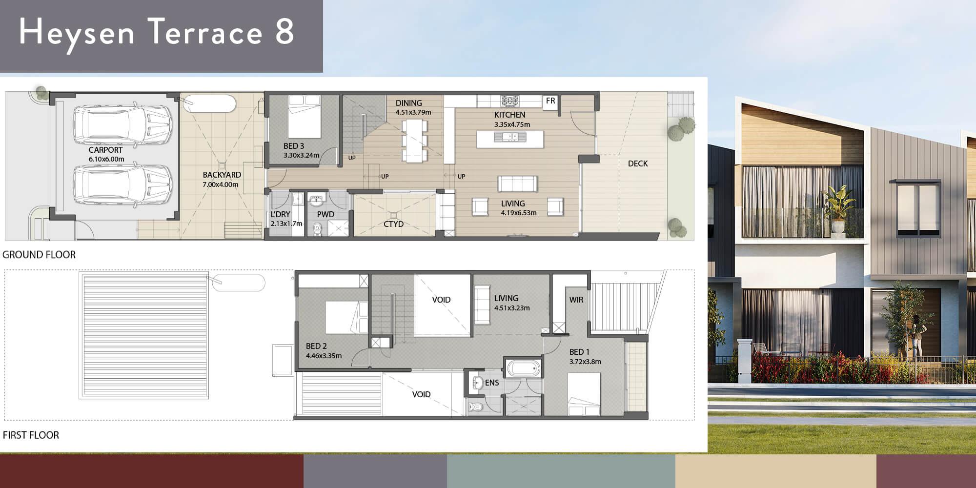 Heysen 8 Floorplan