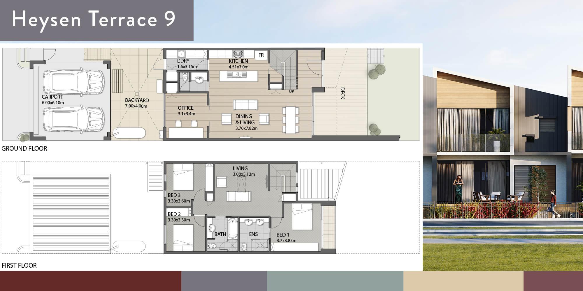 Heysen 9 Floorplan