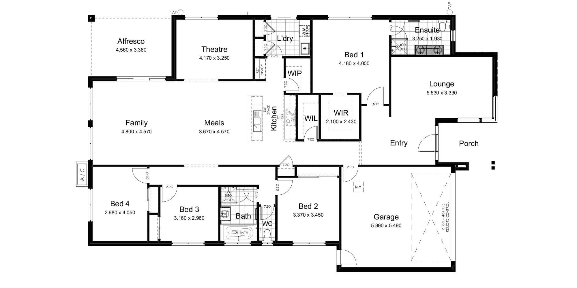 Lot 30 floorplan