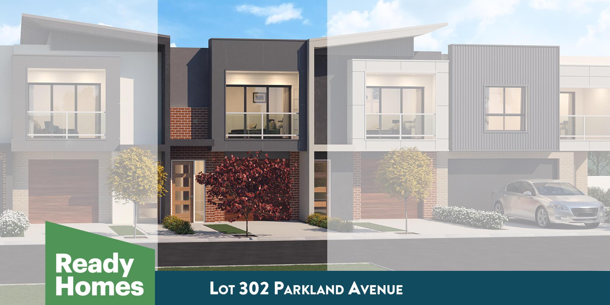 Lot 302 Parkland Avenue facade