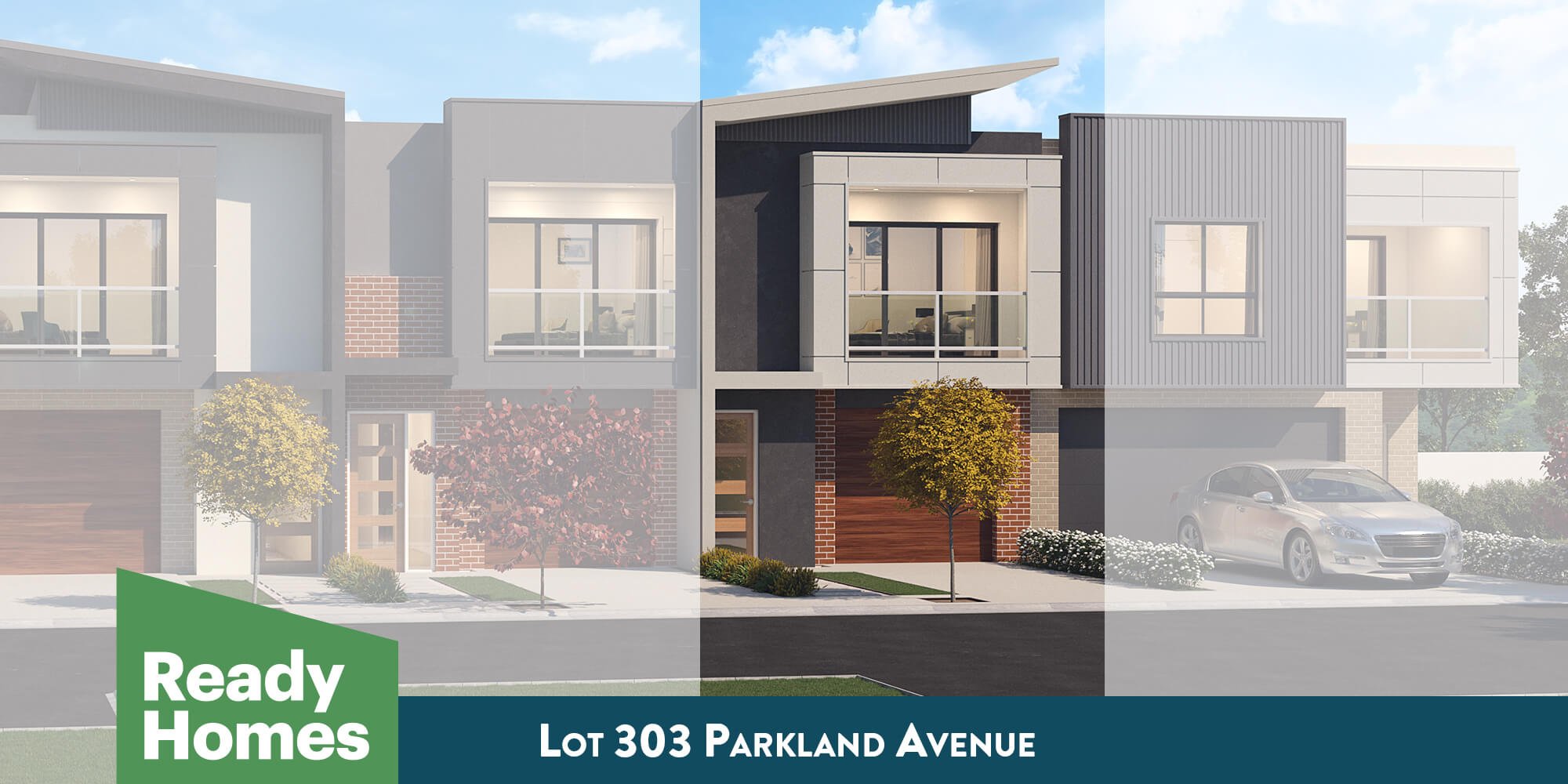 Lot 303 Parkland Avenue facade