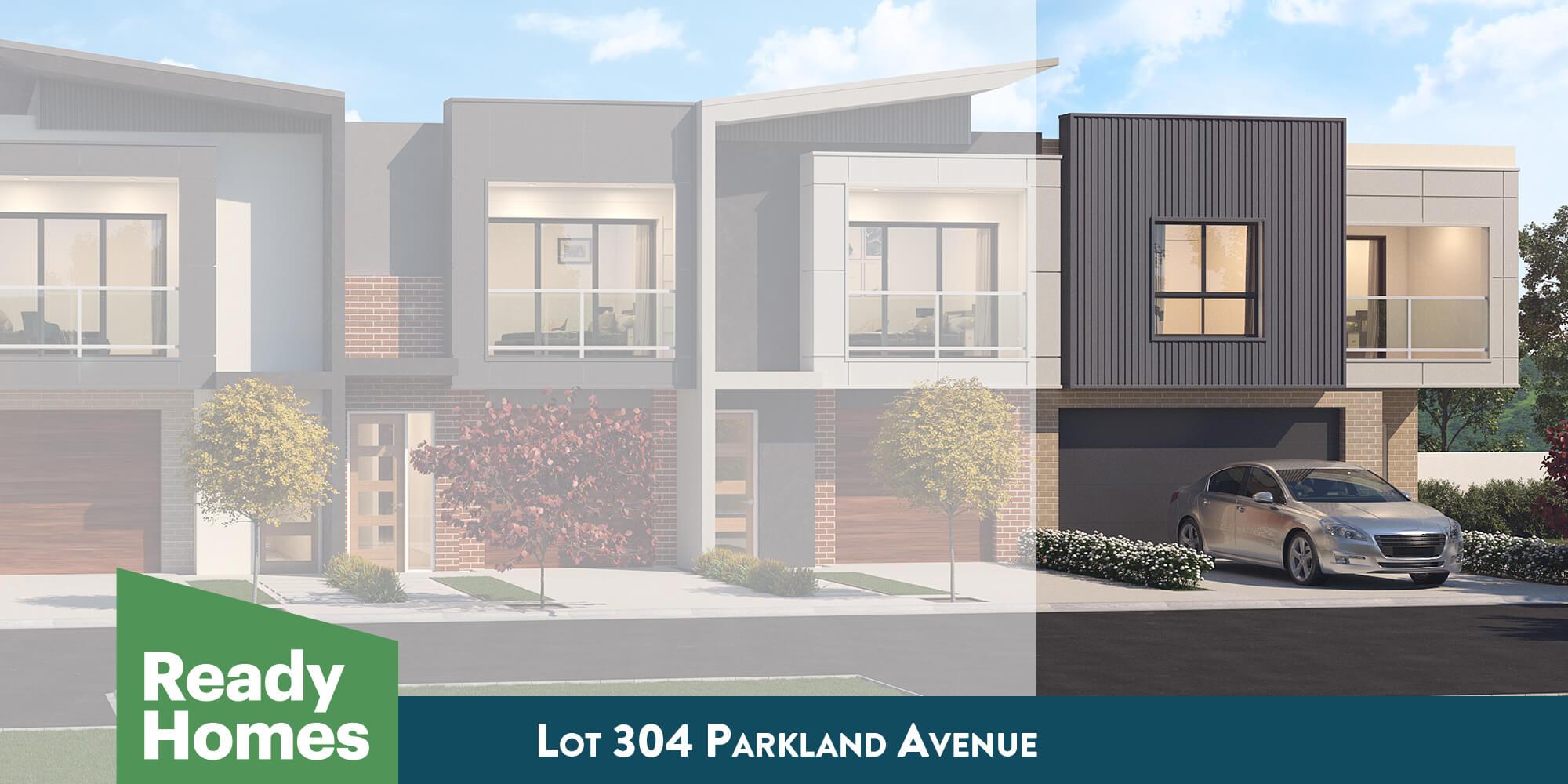 Lot 304 Parkland Avenue facade