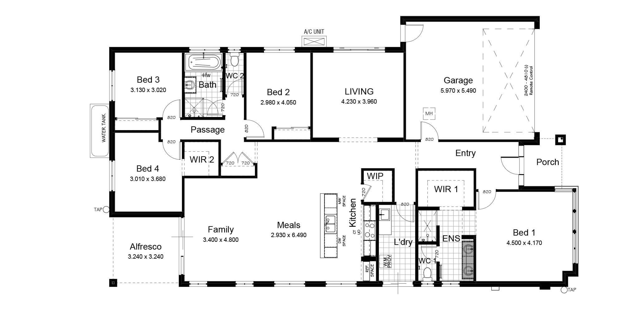 Lot 5 floorplan