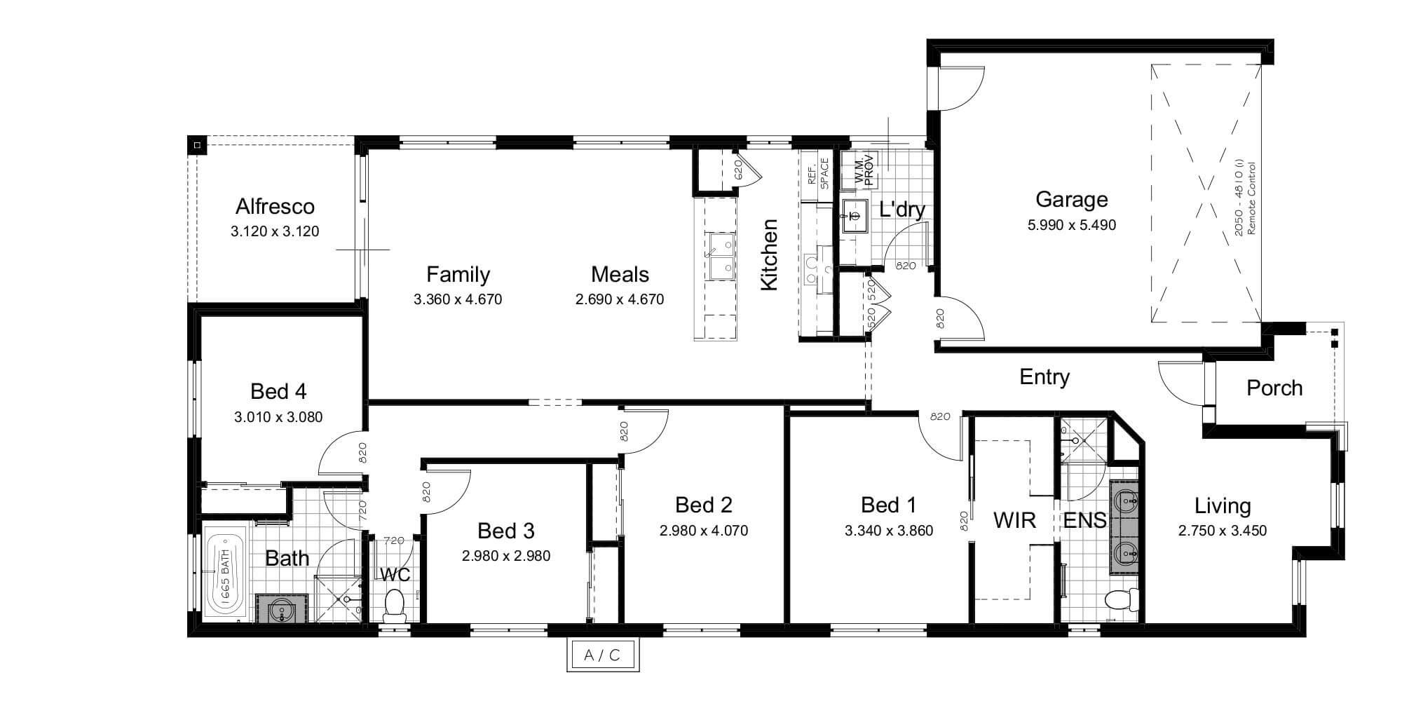 Lot 6 floorplan