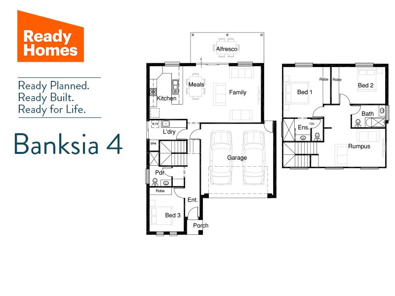 Banksia 4 floorplan