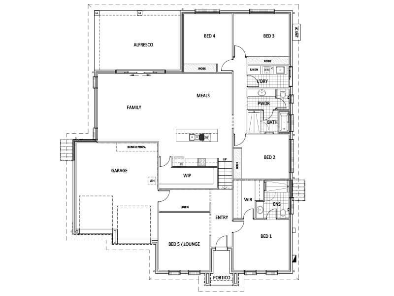 Weeks floorplan